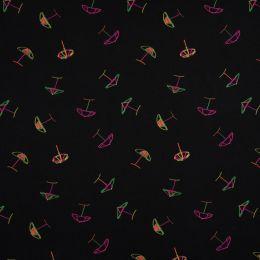 Jersey Cotton Fabric | Parasol Neon