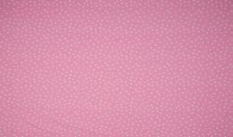 Jersey Cotton Fabric | Dots Rose