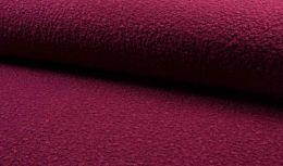 Luxury Boucle Coating Fabric | Dark Fuchsia