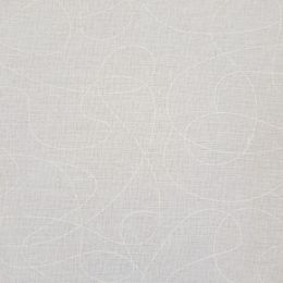 Extra Wide Fabric | Squiggle Cream