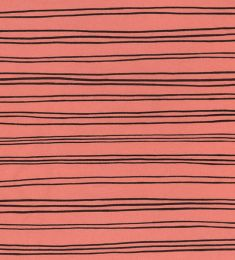 Organic Jersey Fabric | Stripes Pink