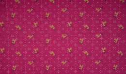 Jersey Cotton Fabric | Reindeer Magenta