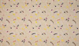 Jersey Cotton Fabric | Fantasy Knit Sand
