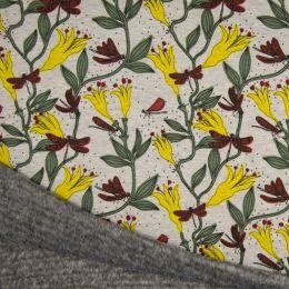 Luxury Sweatshirt Fabric | Botanic