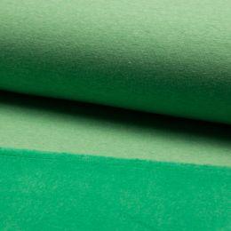 Luxury Sweatshirt Fabric Plain   Green Melange
