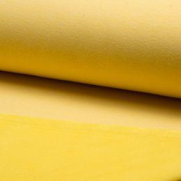 Luxury Sweatshirt Fabric Plain | Yellow