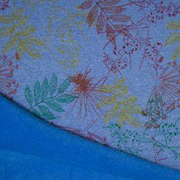Luxury Sweatshirt Fabric | Forest Royal