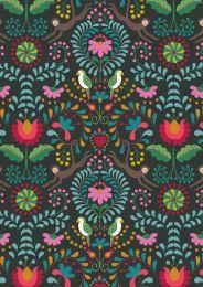 Maya Lewis & Irene Fabric | Maya Black
