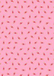 Maya Lewis & Irene Fabric | Boho Hearts Pink