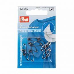 Dress Shield Safety Pins, Silver | Prym