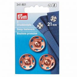21mm Rose Gold Metal, Snap Fasteners | Prym