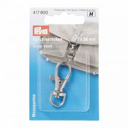 Snap Hook Silver | Small | Prym