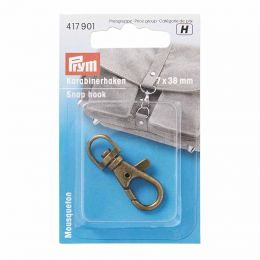Snap Hook Brass | Small | Prym