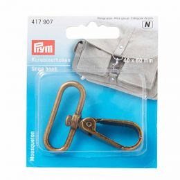 Snap Hook Antique Brass | Extra Heavy | Prym
