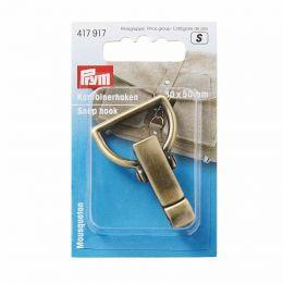 Snap Hook Brushed Brass | Extra Heavy | Prym