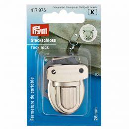 Tuck lock 26 mm Silver | Prym