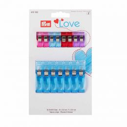 Fabric Clips 2.6cm & 5.5cm | Prym Love