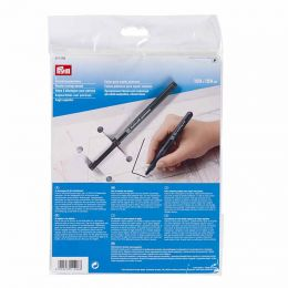 Plastic Tracing Sheets, With Pen | Prym