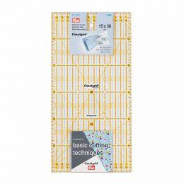 Omnigrid Universal Ruler   cm Scale   15 x 30 cm