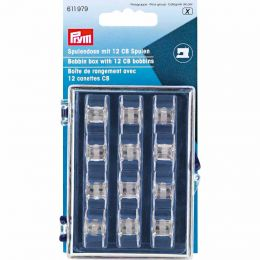 Bobbin Box With x12 Plastic Bobbins | Prym