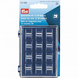 Bobbin Box With x12 Metal Bobbins | Prym