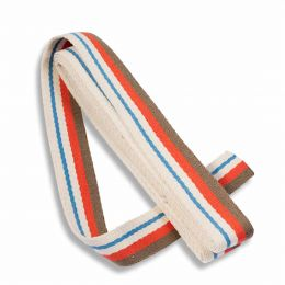 Strap For Bags 40mm x 3m Card | Multi Coloured - Natural