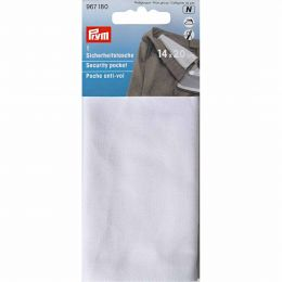 Security Pocket, Iron In, Nat White | Prym