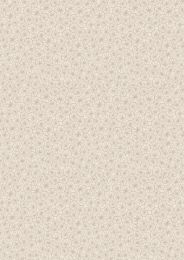 The Village Pond Fabric | Marigold Leaves Dark Cream
