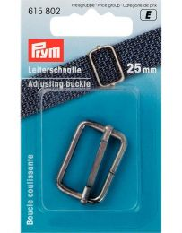 Adjusting Buckle 25mm | Antique Silver | Prym