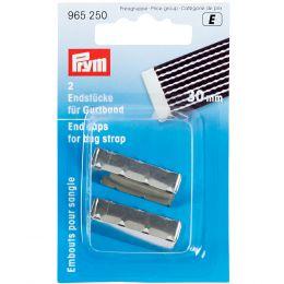 End Caps For Bag Straps, 30mm   Prym