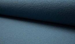 Boiled Wool Fabric   Dusty Blue