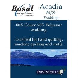 "Bosal Acadia Wadding - Autumn | 96"" Wide - Empress Mills"