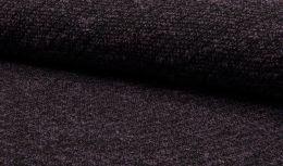 Jersey Fabric | Textured Boucle Soft Purple