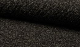 Jersey Fabric | Textured Boucle Taupe