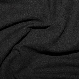 Jersey Cotton Brushed | Black