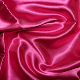Satin Lining Fabric | Cerise