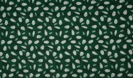 Jersey Cotton Fabric | Christmas Acorns