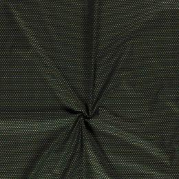 Stitch It, Christmas Metallic Fabric | Small Star Green