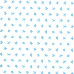Christmas Fun Fabric | Star Pale Blue