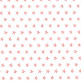 Christmas Fun Fabric | Star Pink