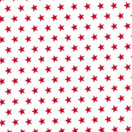 Christmas Fun Fabric | Star Red