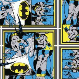 Cotton Fabric Print | Batman Blocks