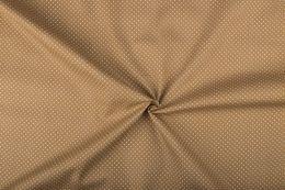 Stitch It, Cotton Print Fabric | Small Dot Camel