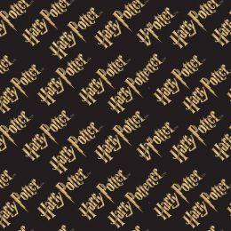 Cotton Fabric Print | Harry Potter Logo