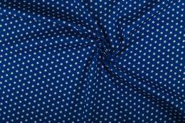 Stitch It, Cotton Print Fabric | Stars Cobalt