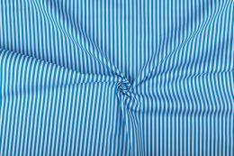 Stitch It, Cotton Print Fabric | Stripe Aqua