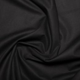 Cotton Sheeting Fabric | Black
