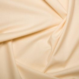 Cotton Sheeting Fabric | Cream