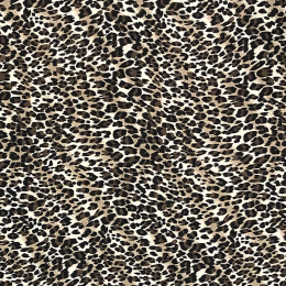 Crepe Georgette Fabric | Animal Print Classic