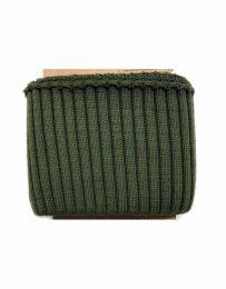 Cuffs Heavy Rib | Dark Green